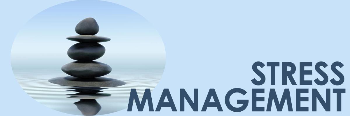 Stress Management graphic header