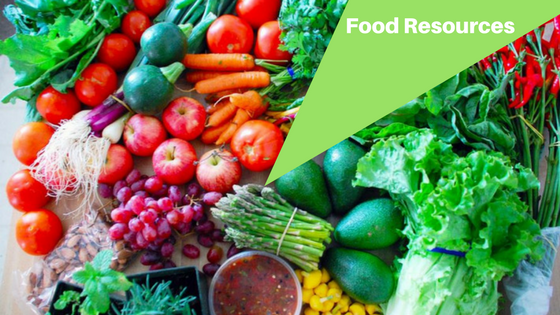 what are the food resources available in the local merced area